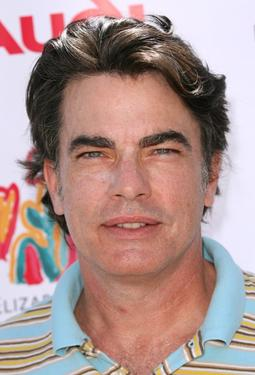 Peter Gallagher at the Elizabeth Glaser Pediatric Aids Foundation Golf Tournment.
